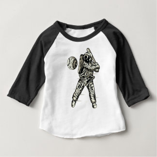 Space Baseball Baby T-Shirt