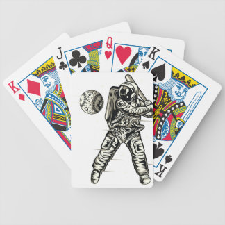 Space Baseball Bicycle Playing Cards