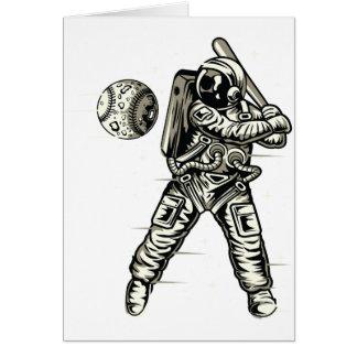 Space Baseball Card