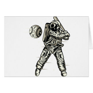 Space Baseball Card