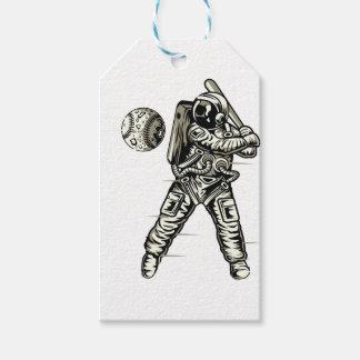 Space Baseball Gift Tags