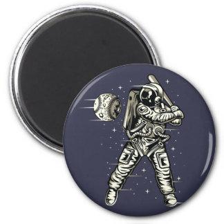 Space Baseball Magnet