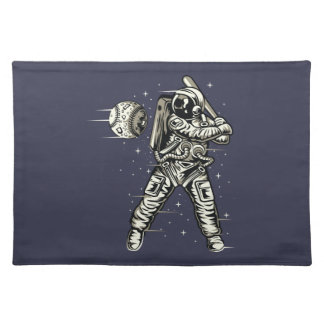 Space Baseball Placemat