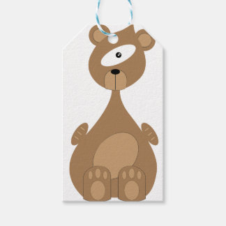 Space bear gift tags