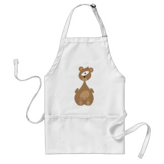 Space bear standard apron