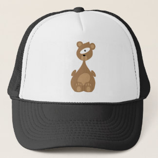 Space bear trucker hat
