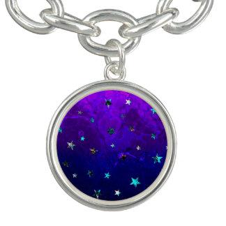 Space beautiful galaxy night starry  image