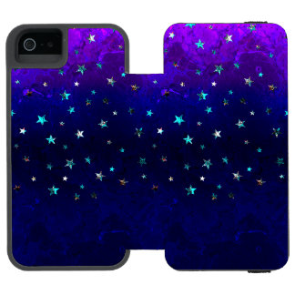 Space beautiful galaxy night starry  image incipio watson™ iPhone 5 wallet case
