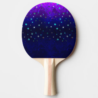 Space beautiful galaxy night starry  image ping pong paddle