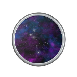 Space beautiful galaxy starry night image speaker