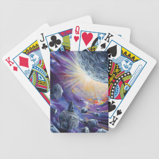 Space Bicycle Playing Cards
