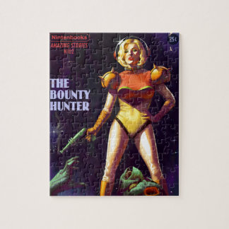 Space Bounty Hunter Jigsaw Puzzle