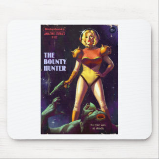 Space Bounty Hunter Mouse Pad
