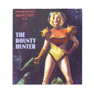 Space Bounty Hunter Notepad