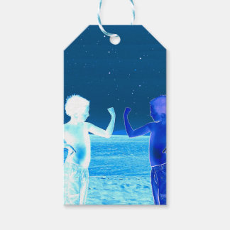 Space boys gift tags