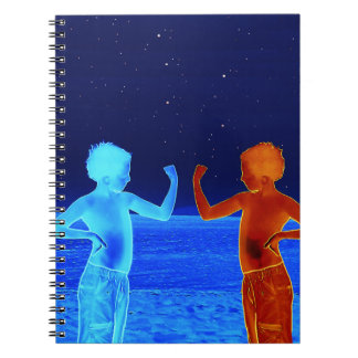 Space boys notebooks