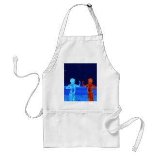 Space boys standard apron