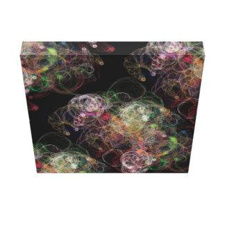 Space Bubbles Canvas Art
