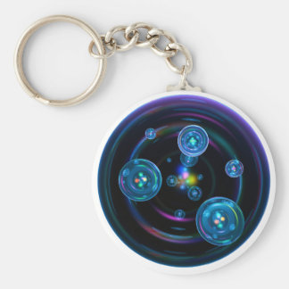 Space Bubbles Key Ring