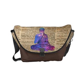 Space Buddha Dictionary Art Commuter Bag