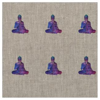 Space Buddha Dictionary Art Fabric