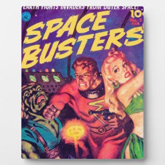 Space Busters Plaque
