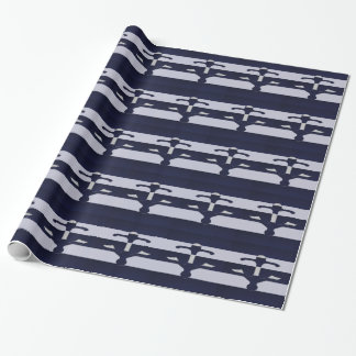 Space Cadet Anchor Wrapping Paper