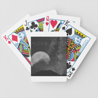 Space Cadet Moon Child Bicycle Playing Cards