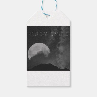 Space Cadet Moon Child Gift Tags