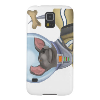 Space Cadet Puppy Cases For Galaxy S5