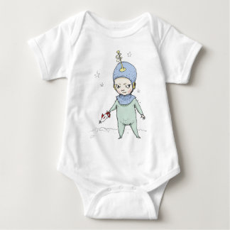 Space Cadet Timmy Baby Bodysuit
