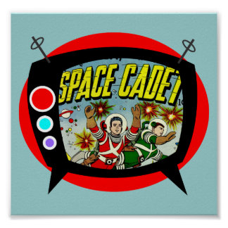Space Cadet TV Poster