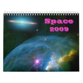 Space Calendar 2009