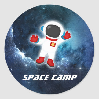 Space Camp Astronaut Sticker