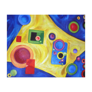 Space Stretched Canvas Prints