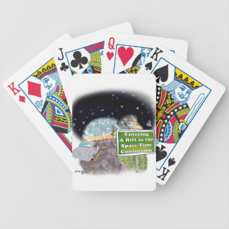 Space Cartoon 8800 Bicycle Playing Cards