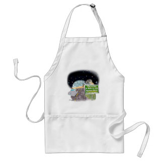 Space Cartoon 8800 Standard Apron