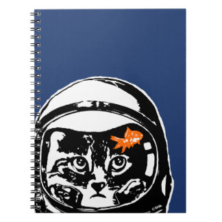 Space cat and the goldfish notebook