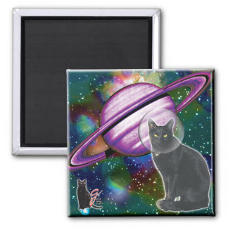 Space-Cat Cosmo Magnet