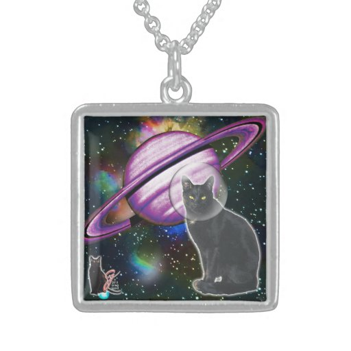 Space-Cat Cosmo Necklace