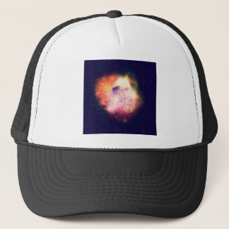 Space Cat Portrait2 Trucker Hat