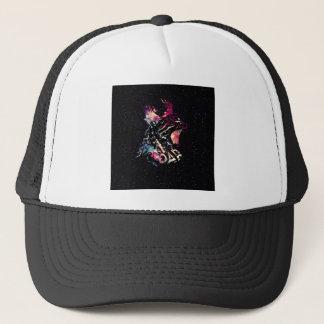 Space Cat Portrait Trucker Hat