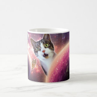 Space Cats LOL Funny Coffee Mug