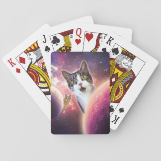 """Space Cats"" LOL Playing Cards, Standard Index Playing Cards"