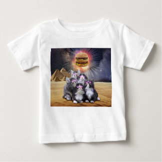space cats looking for the burger baby T-Shirt