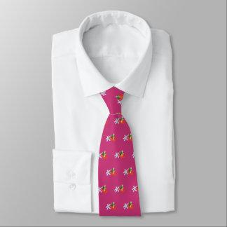 Space Cats (magenta) Tie