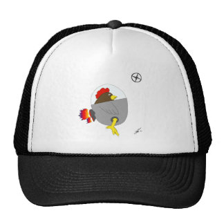 Space Chicken - Brown Cap