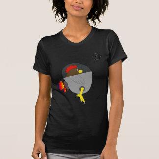 Space Chicken - Brown Shirt