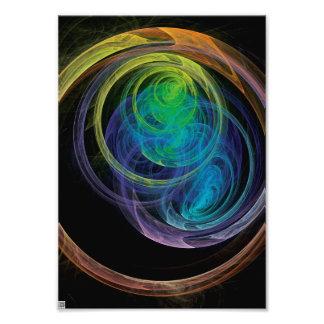 Space Circles Photo Print