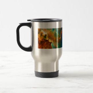 Space cloud nebula mugs